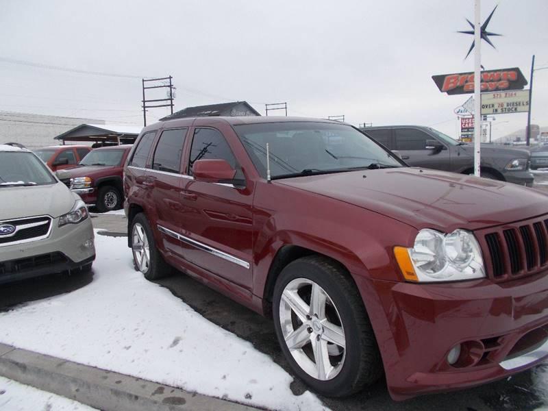 2007 Jeep Grand Cherokee Srt8 4dr Suv 4wd In Yakima Wa Brown Boys