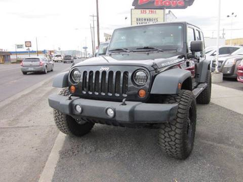 2010 Jeep Wrangler Unlimited for sale in Yakima, WA