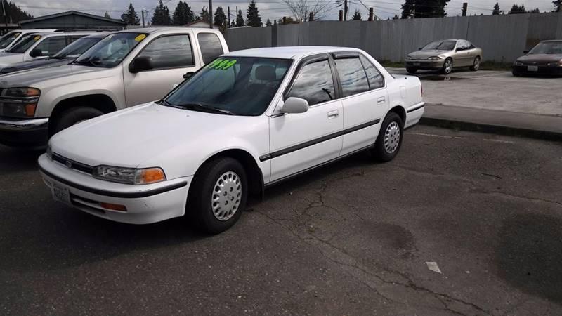 1992 Honda Accord LX 4dr Sedan - Spanaway WA