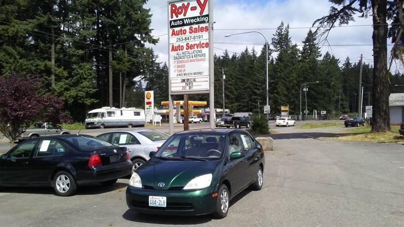 2002 Toyota Prius 4dr Sedan - Spanaway WA