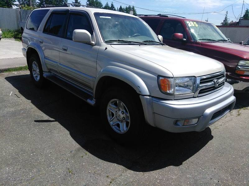 2000 Toyota 4Runner 4dr Limited 4WD SUV - Spanaway WA