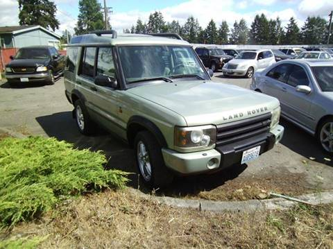 2004 Land Rover Discovery for sale in Spanaway, WA
