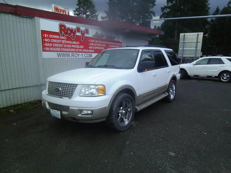 2005 Ford Expedition Eddie Bauer 4WD 4dr SUV - Spanaway WA