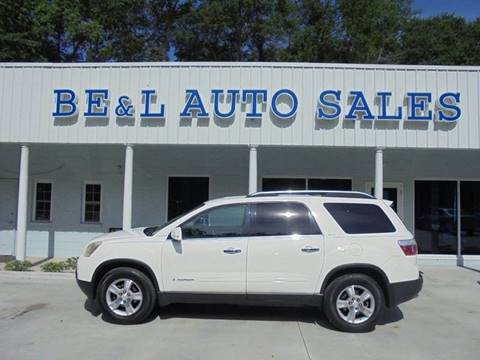 2007 GMC Acadia for sale in Walterboro, SC