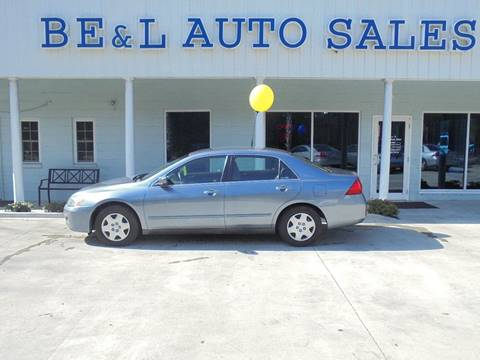 2007 Honda Accord for sale in Walterboro SC