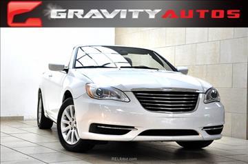2012 Chrysler 200 Convertible for sale in Sandy Springs, GA