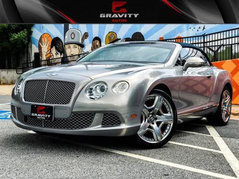 2012 Bentley Continental for sale in Sandy Springs, GA