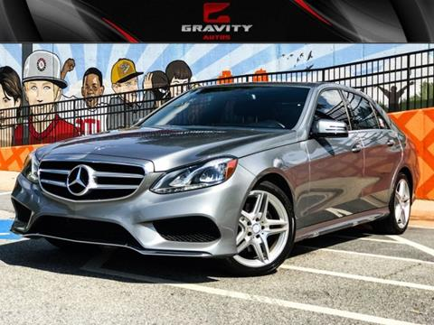 2014 Mercedes-Benz E-Class for sale in Sandy Springs, GA