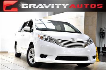 2015 Toyota Sienna for sale in Sandy Springs, GA
