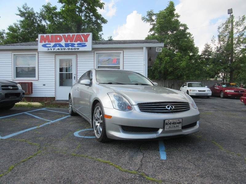 2005 Infiniti G35 for sale at Midway Cars LLC in Indianapolis IN