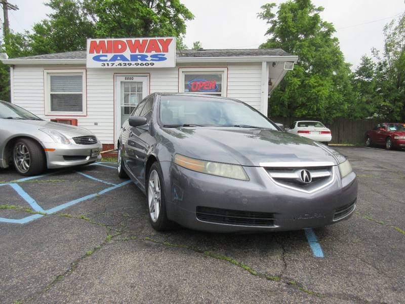 2005 Acura TL for sale at Midway Cars LLC in Indianapolis IN