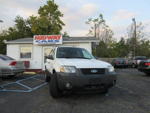 2006 Ford Escape for sale at Midway Cars LLC in Indianapolis IN