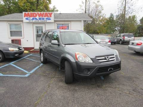 2006 Honda CR-V for sale at Midway Cars LLC in Indianapolis IN
