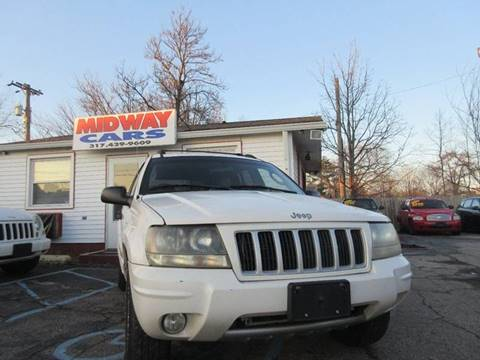 2004 Jeep Grand Cherokee Laredo for sale at Midway Cars LLC in Indianapolis IN
