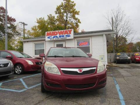 2008 Saturn Aura XR for sale at Midway Cars LLC in Indianapolis IN