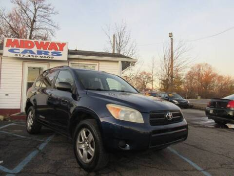2007 Toyota RAV4 for sale at Midway Cars LLC in Indianapolis IN
