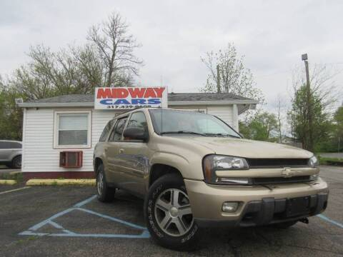 2004 Chevrolet TrailBlazer LT for sale at Midway Cars LLC in Indianapolis IN