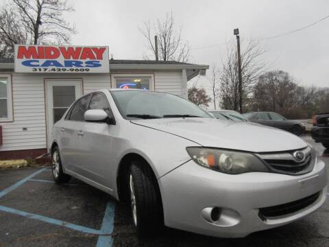 2011 Subaru Impreza 2.5i for sale at Midway Cars LLC in Indianapolis IN