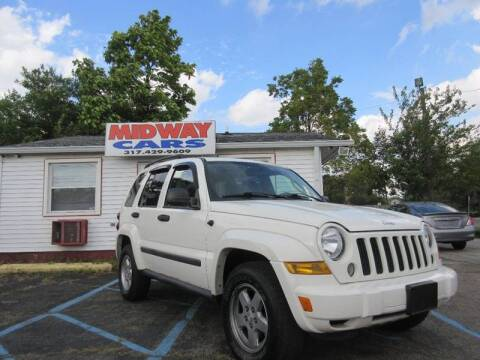 2007 Jeep Liberty Sport for sale at Midway Cars LLC in Indianapolis IN