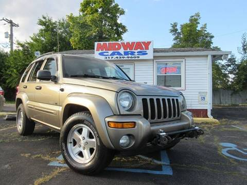 2003 Jeep Liberty for sale at Midway Cars LLC in Indianapolis IN