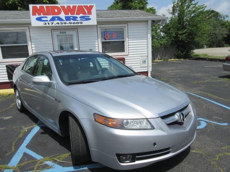 2007 Acura TL for sale at Midway Cars LLC in Indianapolis IN