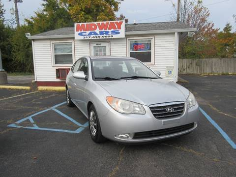 2007 Hyundai Elantra for sale at Midway Cars LLC in Indianapolis IN
