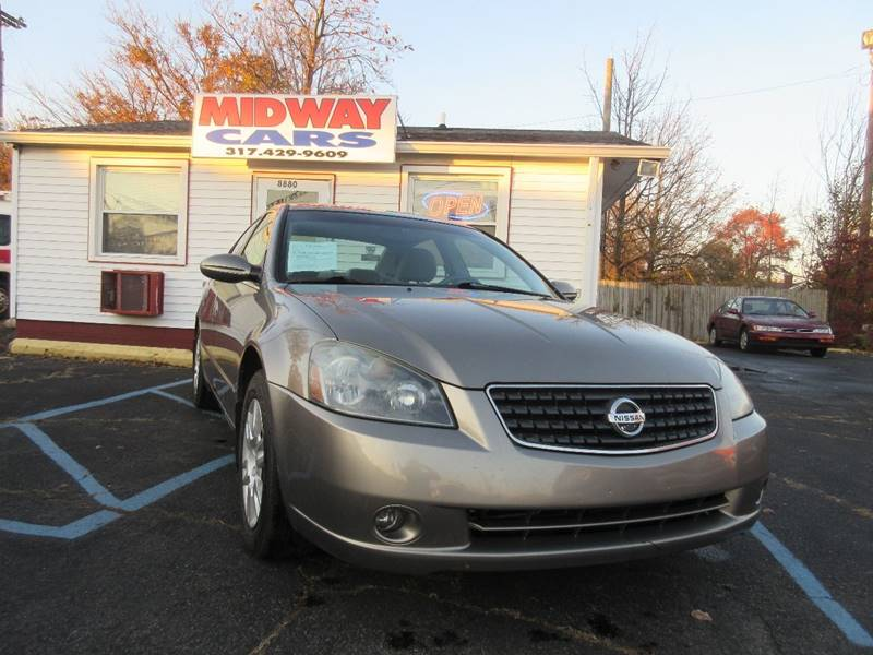 2005 Nissan Altima for sale at Midway Cars LLC in Indianapolis IN