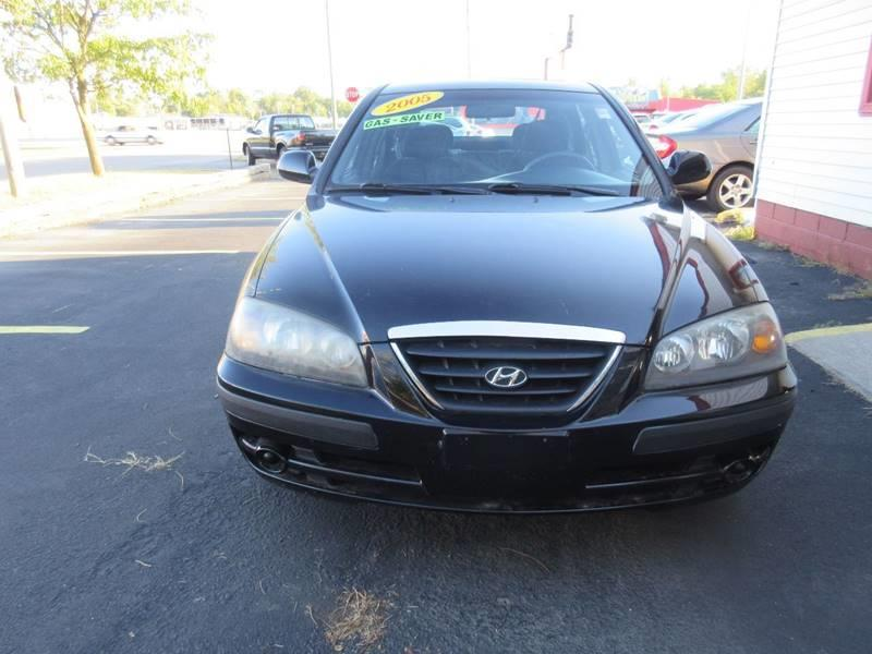2005 Hyundai Elantra for sale at Midway Cars LLC in Indianapolis IN