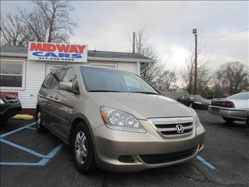 2005 Honda Odyssey for sale at Midway Cars LLC in Indianapolis IN