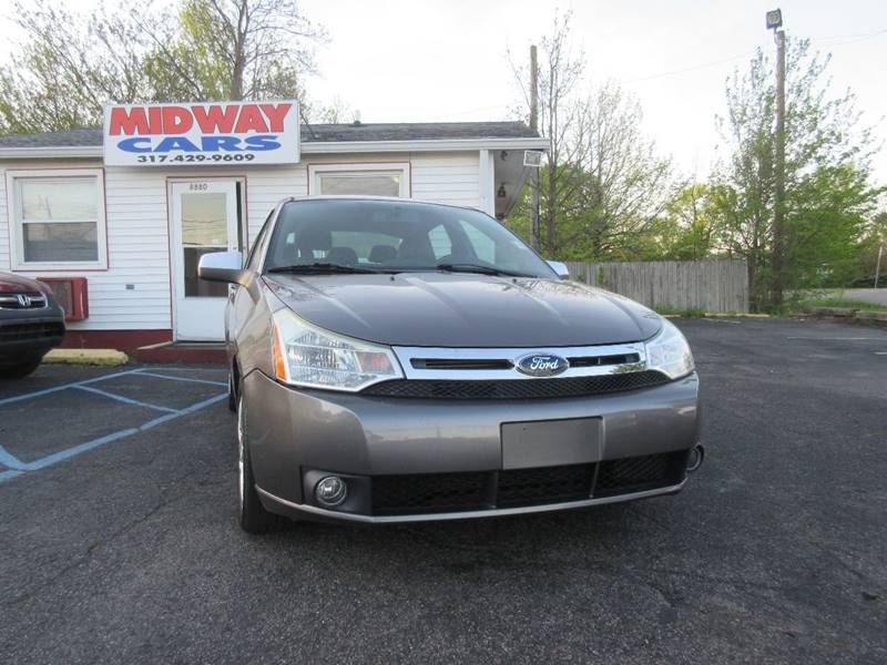 2009 Ford Focus for sale at Midway Cars LLC in Indianapolis IN