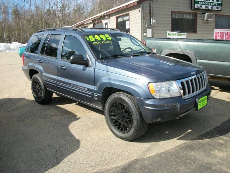 2004 Jeep Grand Cherokee Limited 4WD 4dr SUV   Rochester NH