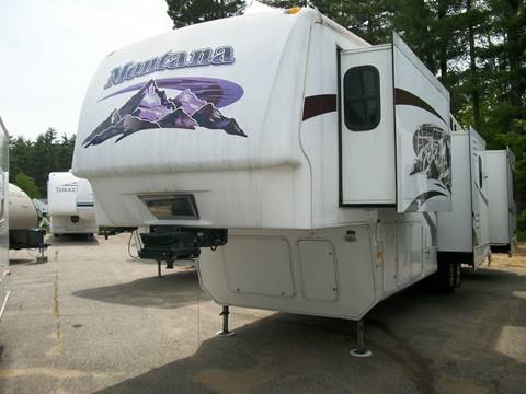 2008 Keystone Montana 3400RL for sale in Rochester, NH