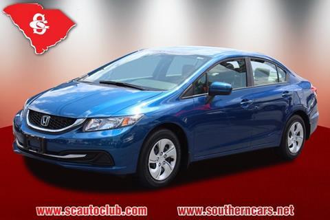2015 Honda Civic for sale in Greer, SC