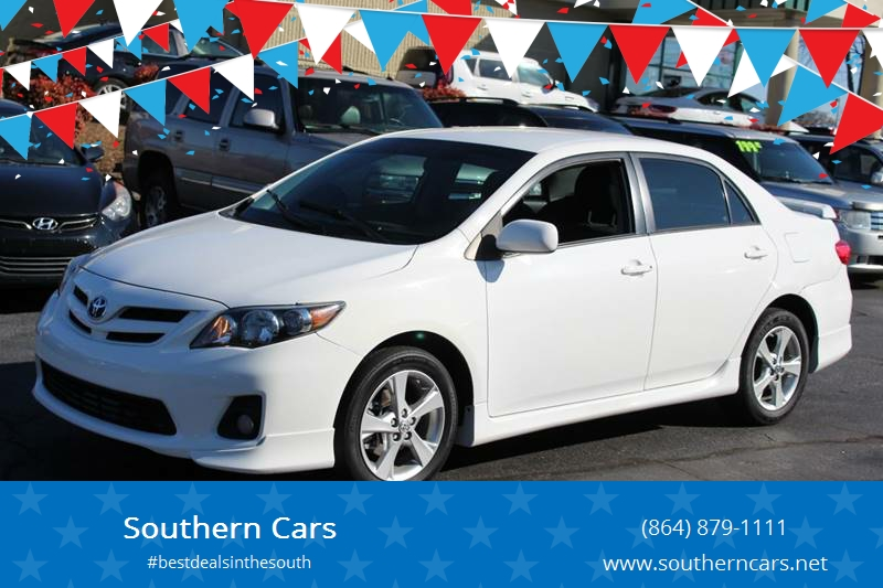 2011 Toyota Corolla For Sale At Southern Cars In Greer SC