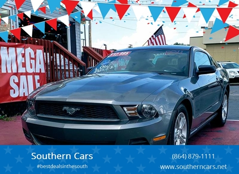 used 2011 ford mustang for sale in south carolina. Black Bedroom Furniture Sets. Home Design Ideas