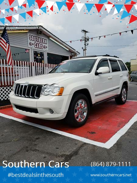2008 Jeep Grand Cherokee For Sale At Southern Cars In Greer SC