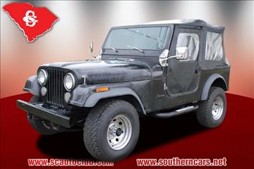 1985 Jeep CJ-7 for sale in Greer, SC