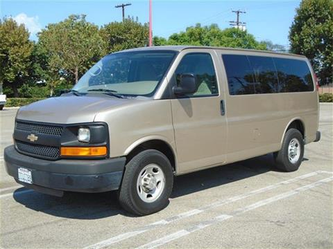 2012 Chevrolet Express Passenger for sale in Van Nuys, CA