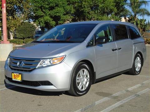 2012 Honda Odyssey for sale in Van Nuys, CA