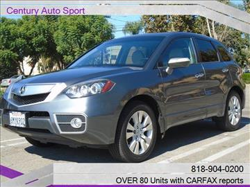 2010 Acura RDX for sale in Van Nuys, CA