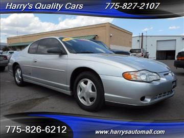 2001 Chevrolet Monte Carlo for sale in Reno, NV