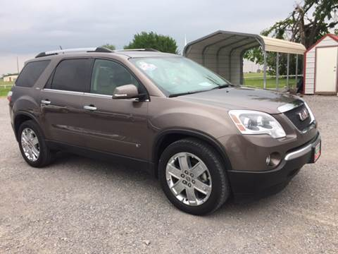 2010 GMC Acadia for sale in Fort Gibson, OK