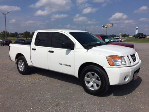 2008 Nissan Titan for sale in Fort Gibson, OK
