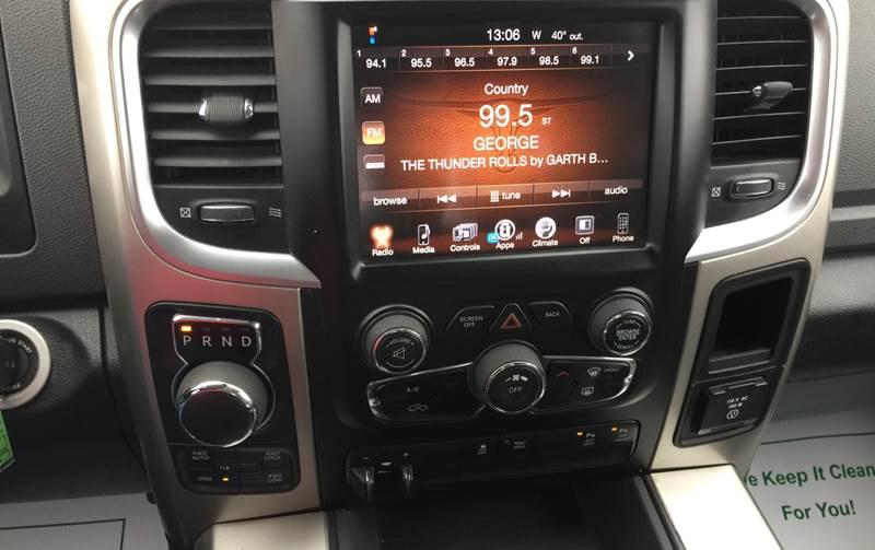 2016 RAM Ram Pickup 1500 4x4 Lone Star 4dr Crew Cab 6.3 ft. SB Pickup - Fort Gibson OK