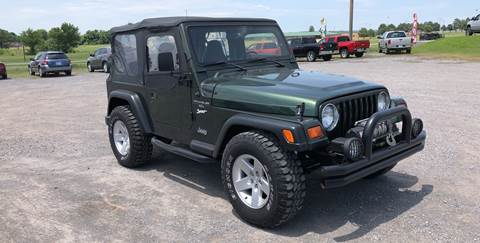 1998 Jeep Wrangler for sale in Fort Gibson, OK