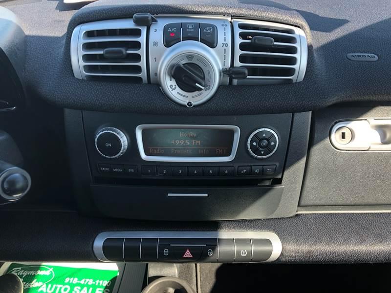 2015 Smart fortwo pure 2dr Hatchback - Fort Gibson OK