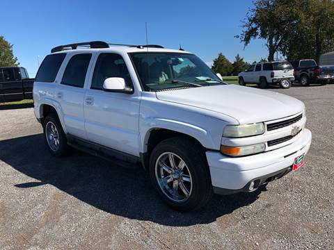 2004 Chevrolet Tahoe for sale in Fort Gibson, OK
