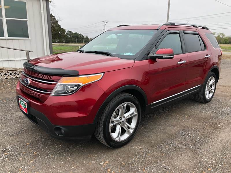 2013 Ford Explorer AWD Limited 4dr SUV - Fort Gibson OK