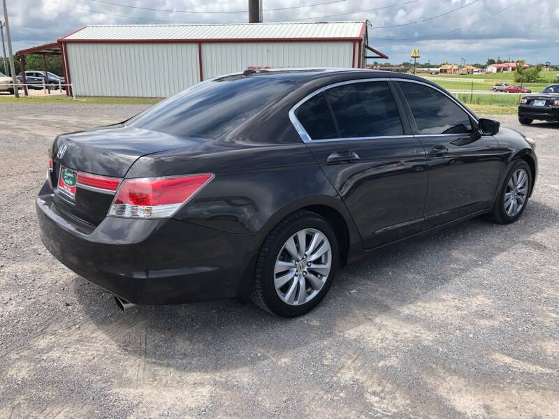 2011 Honda Accord EX-L 4dr Sedan w/Navi - Fort Gibson OK
