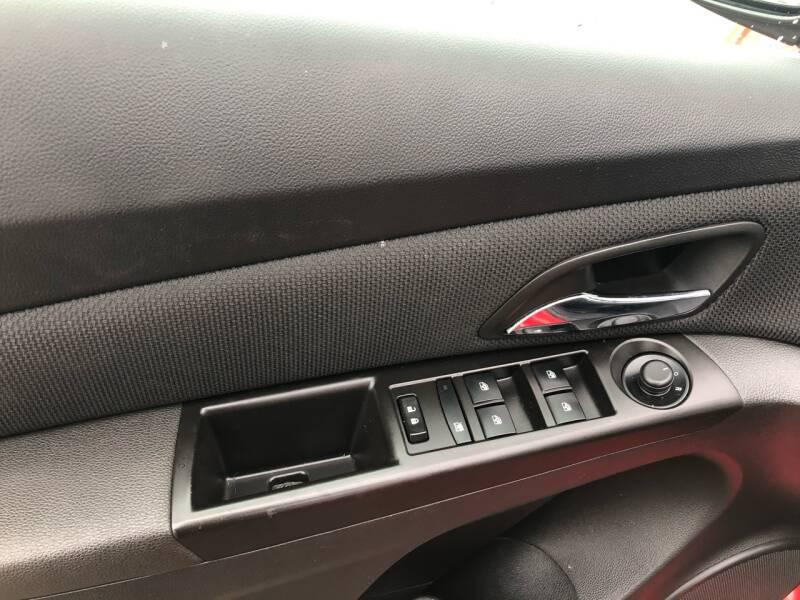 2015 Chevrolet Cruze 2LT Auto 4dr Sedan w/1SH - Fort Gibson OK